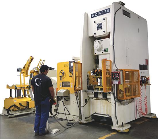 Sutherland Presses Metal Fabrication