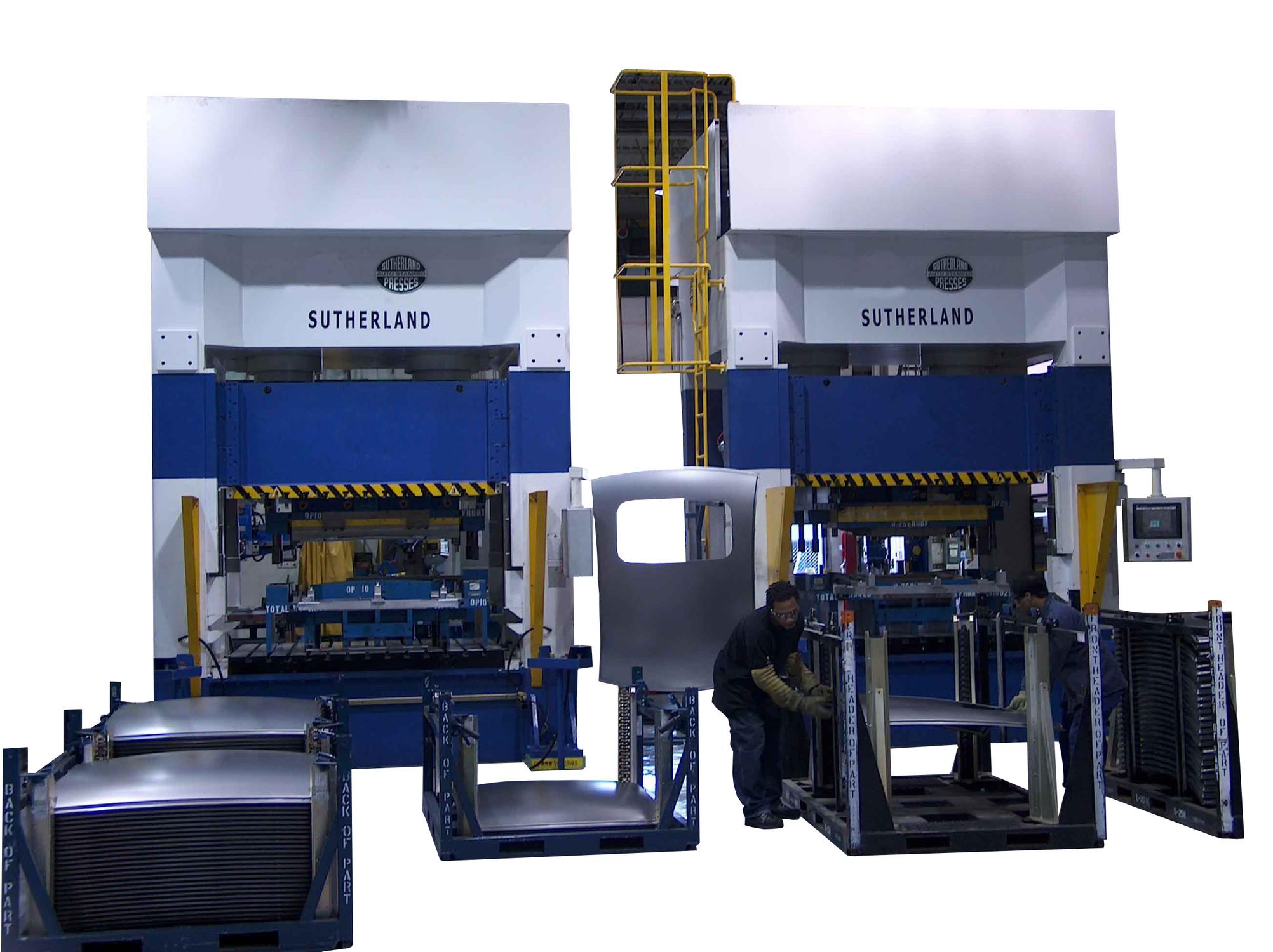 Servo Hydraulic Presses