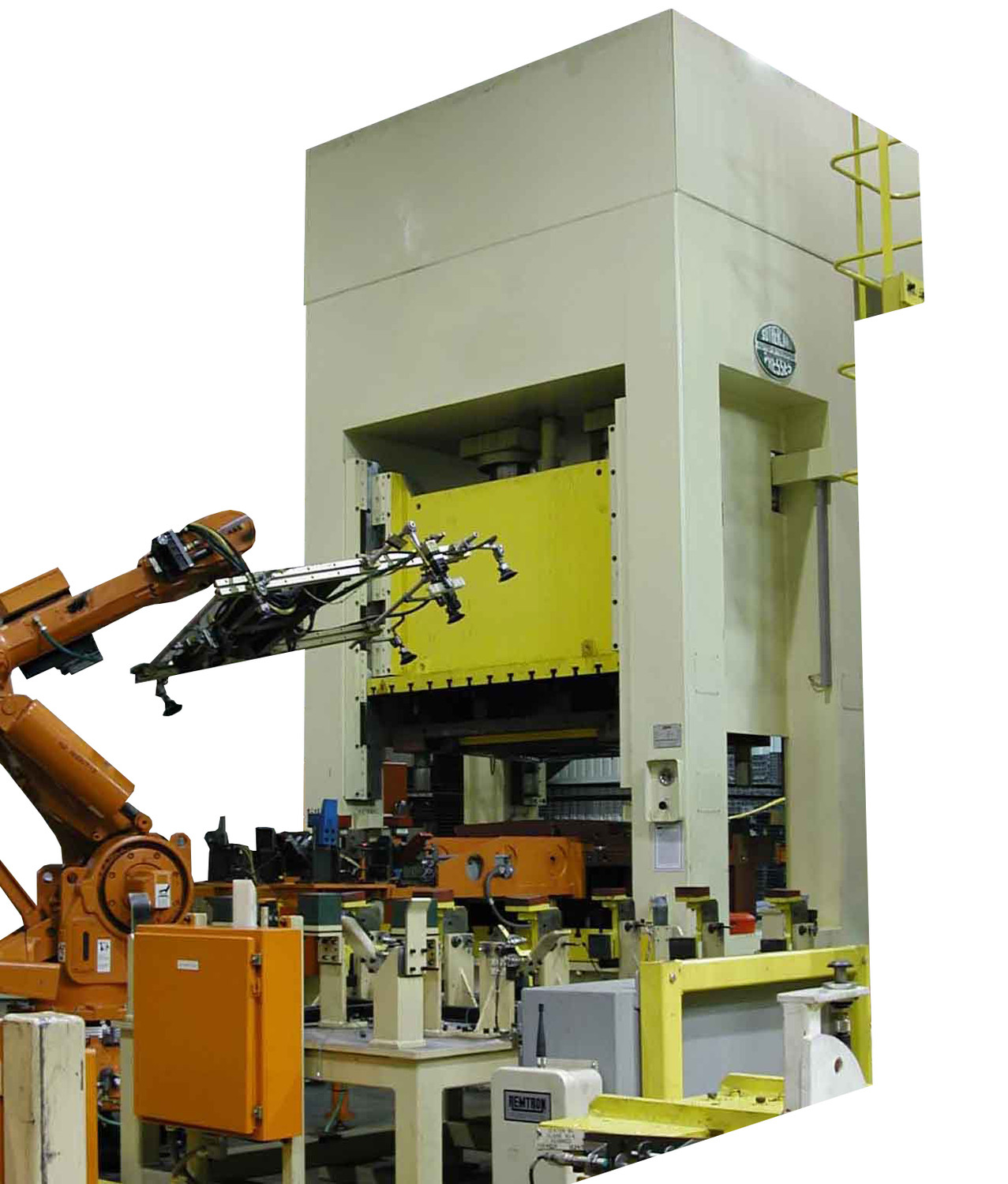 Sutherland Hydraulic Press with Robotic Cell
