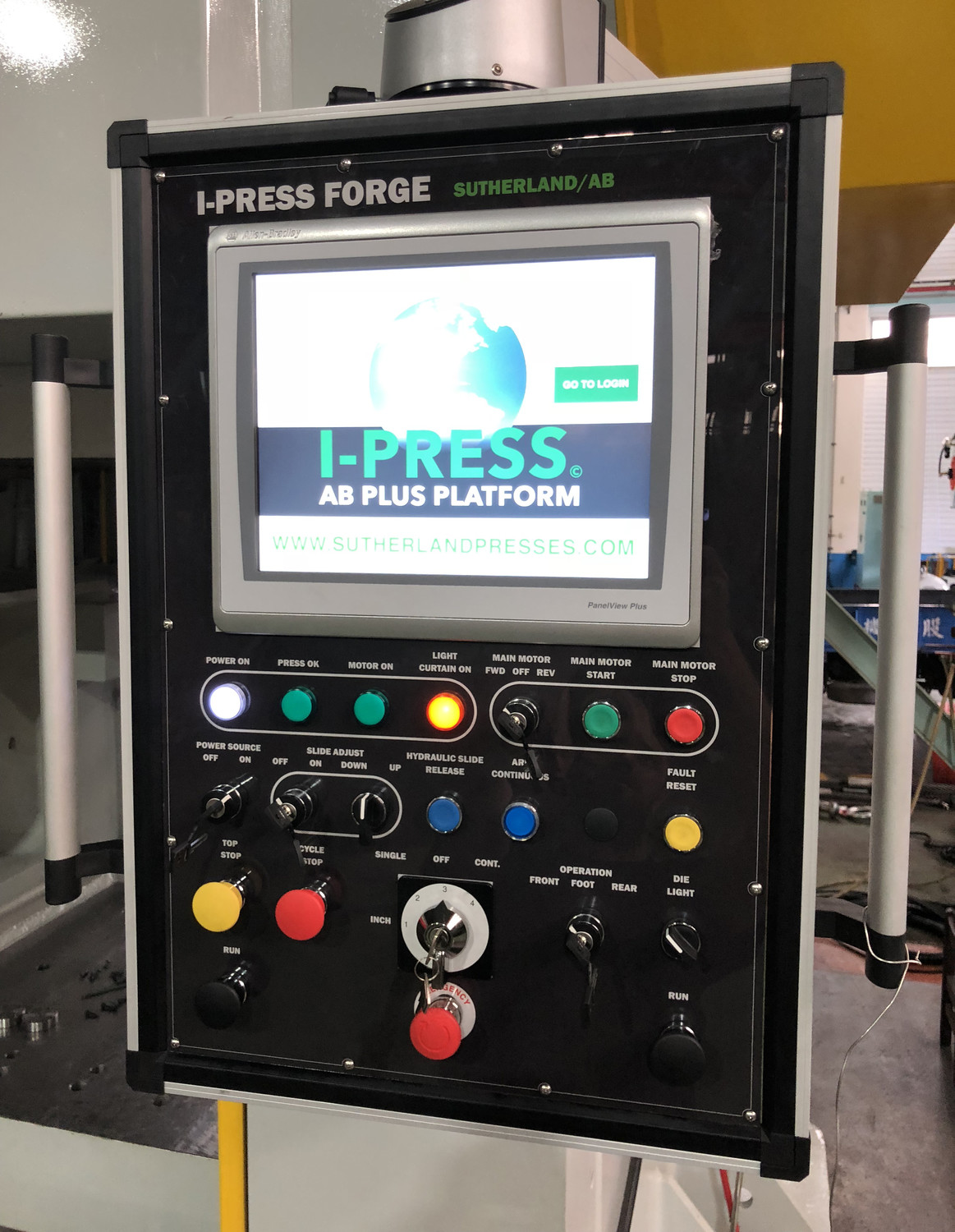Sutherland Controls for Mechanical Forge Presses
