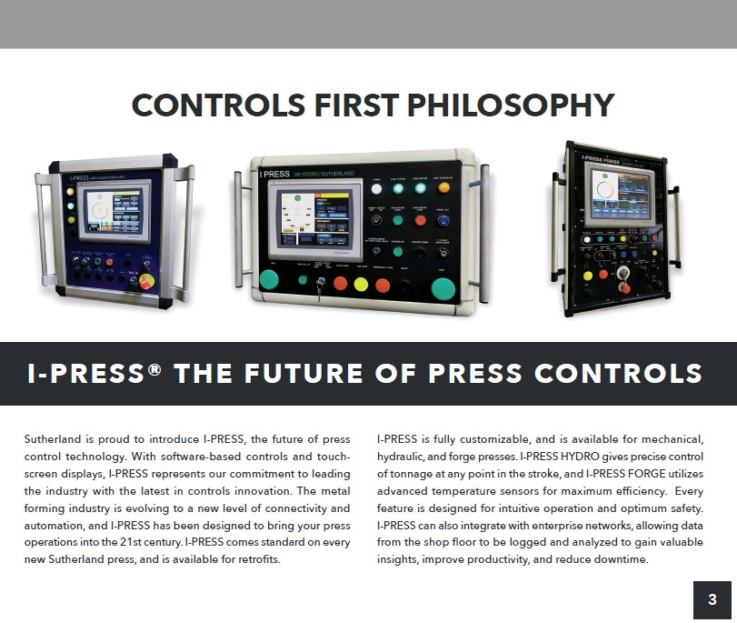 Sutherland Controls First Philosophy