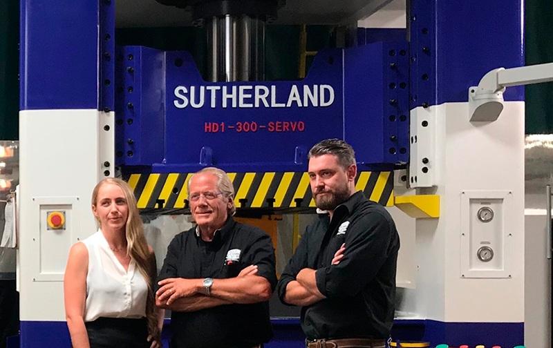 Sutherland Presses Team
