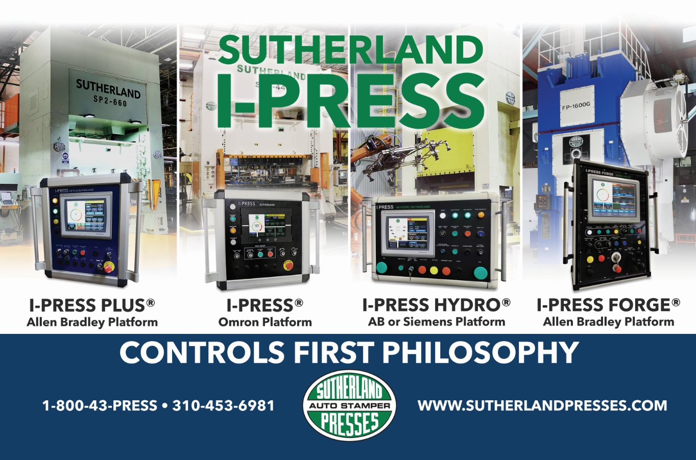 HD1-330 Servo Hydraulic Press at FABTECH available for pre-show purchase
