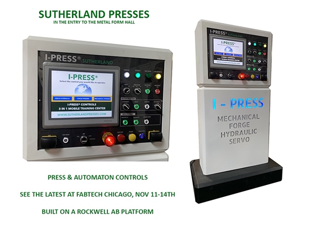 Sutherland I-PRESS Control for Stamping Presses Training Center