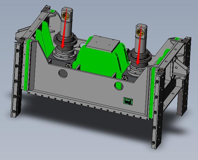 Mechanical Stamping Press Slide and Guidance Design