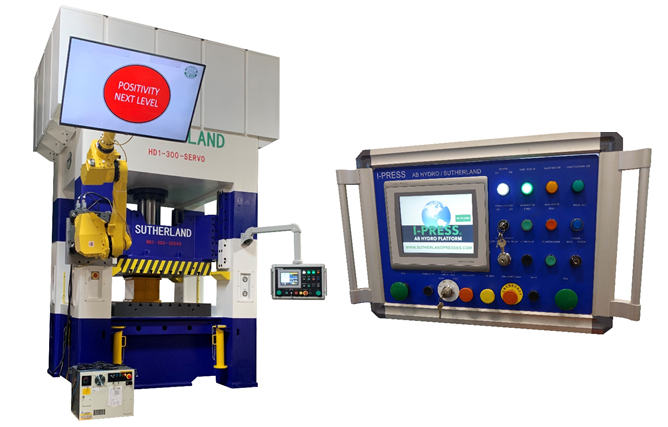 Servo Hydraulic Presses and I-PRESS Hydro