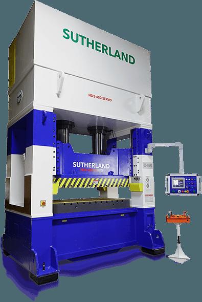 servo hydraulic press