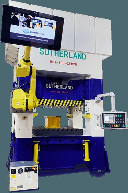 servo hydraulic press and contols