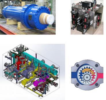 servo hydraulic press fluid management