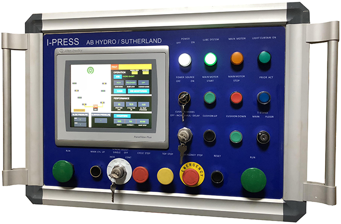 I-PRESS for servo hydraulic presses