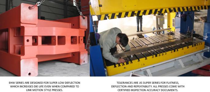 mechanical press rigid frame