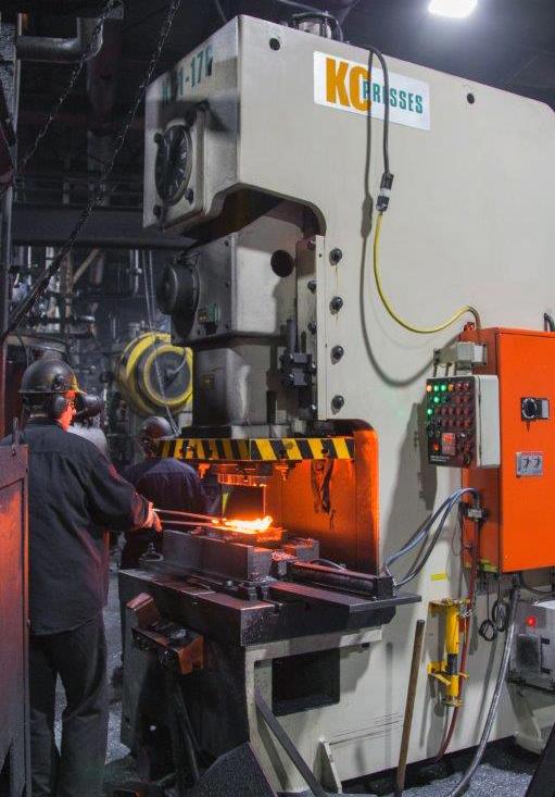 KC forge press