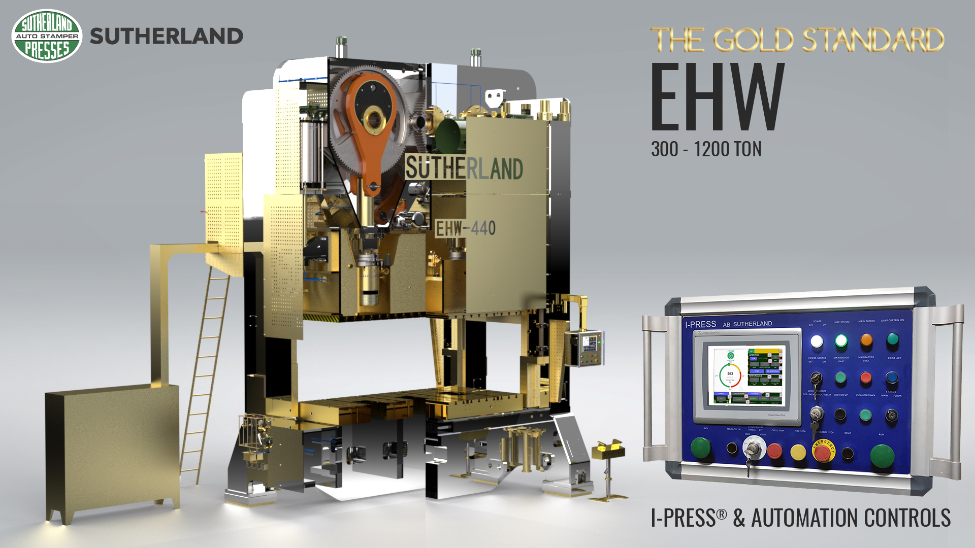 Solid gold and platinum mechanical press
