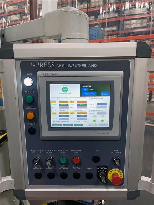 Sutherland presses i-press controls
