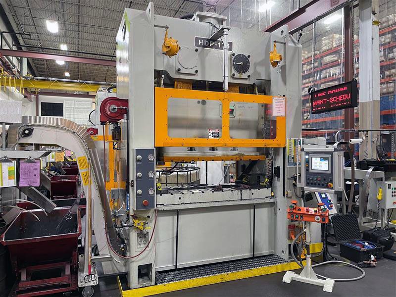 sutherland presses servo-hydraulic press and controls