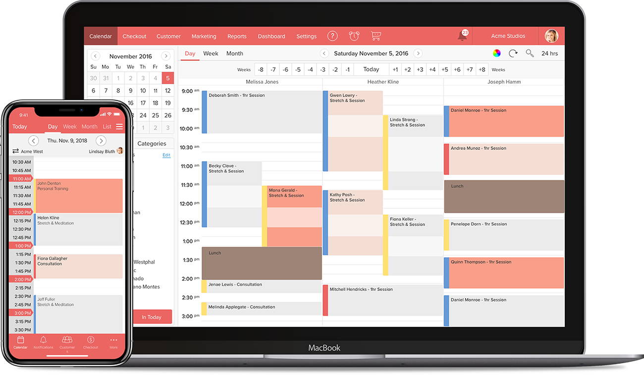 Scheduling Software for Dance Studios