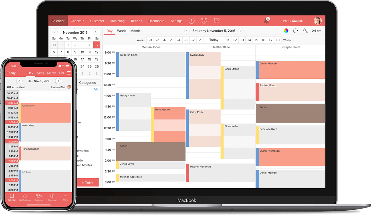 Scheduling Software for Makeup Artists