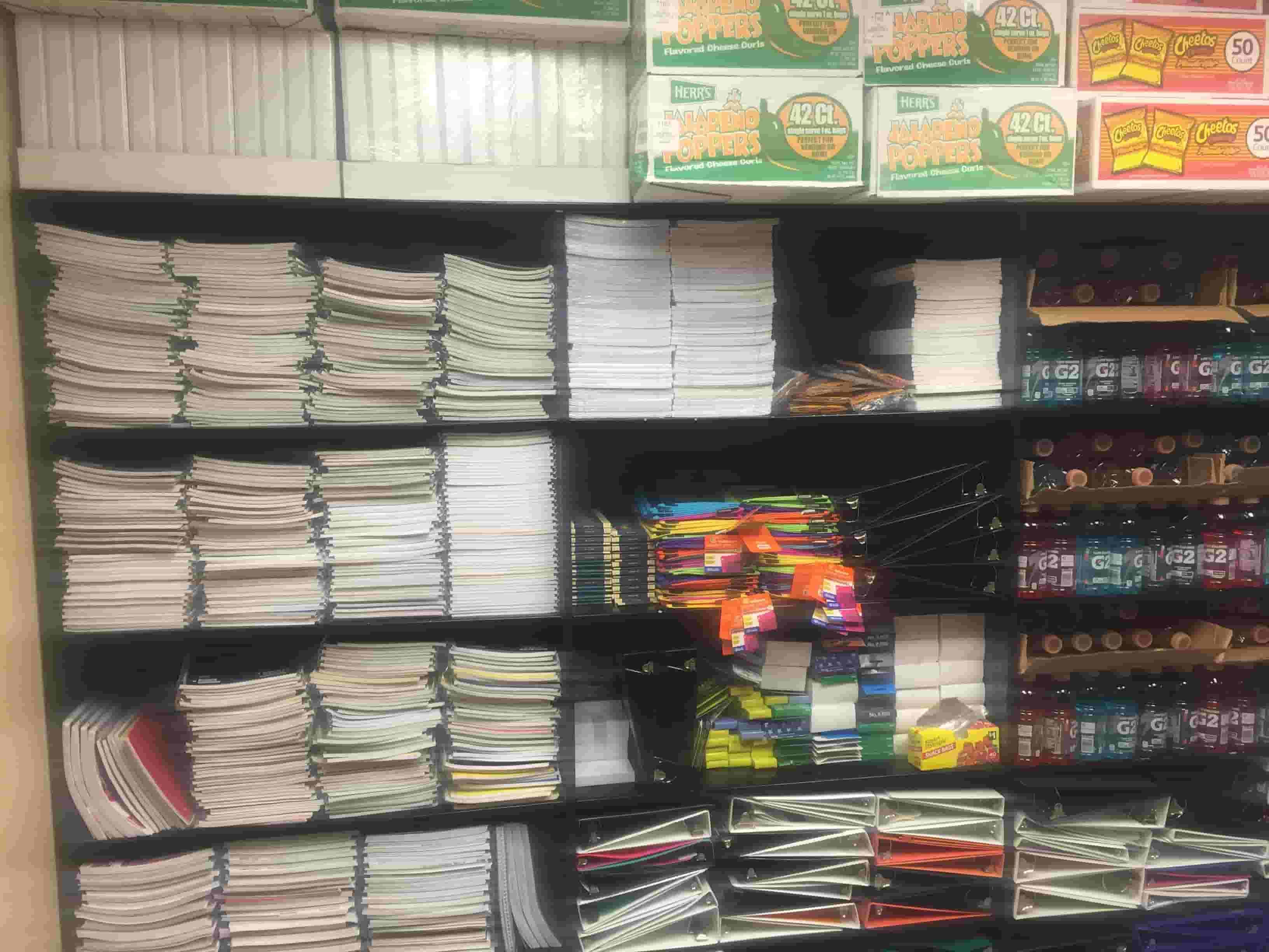 A well stocked and organized PBIS store