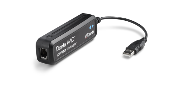 Dante AVIO 2 Channel USB Adapter