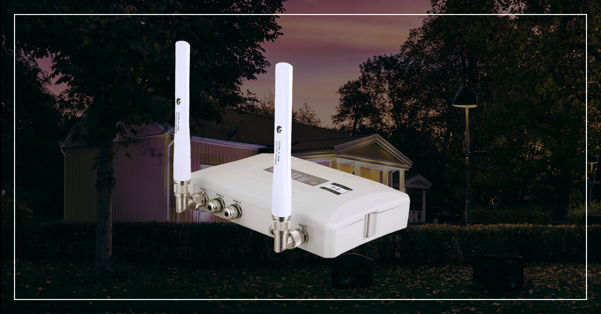 Outdoor solutions for Wireless DMX transmission