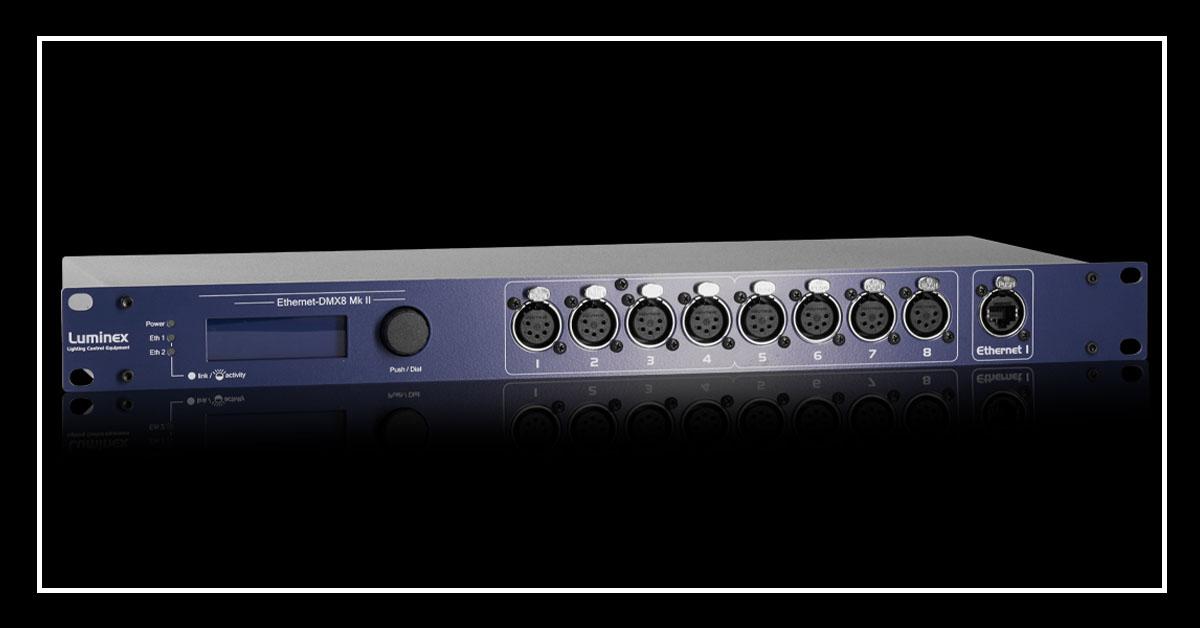 Luminex Ethernet-DMX Range New Firmware Release