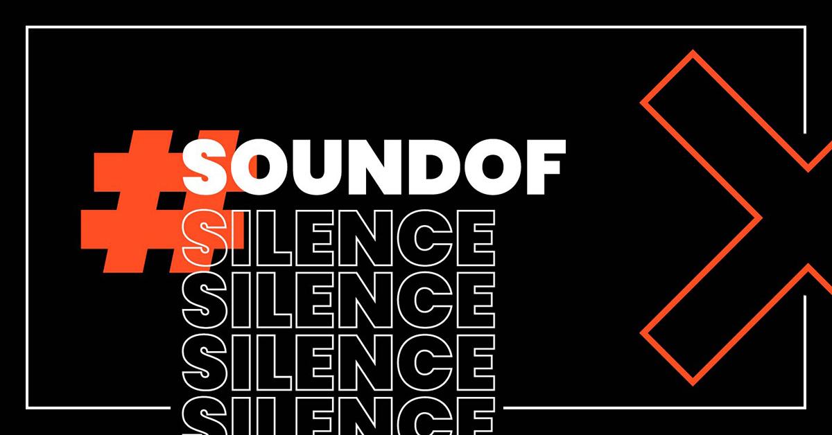 Sound of Silence actie voor de event industry