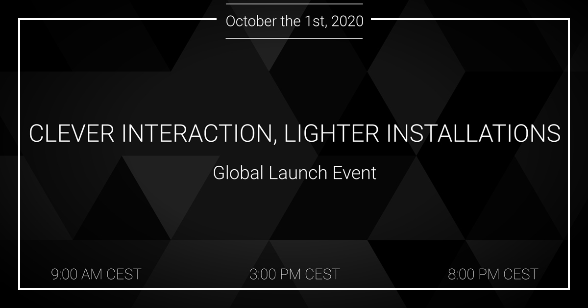 Clever interaction, lighter installations - Powersoft online launch