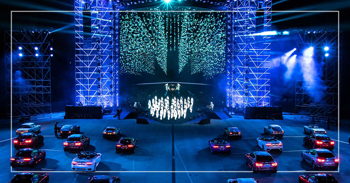 disguise adds new allure to the Maserati MC20 launch event narrative