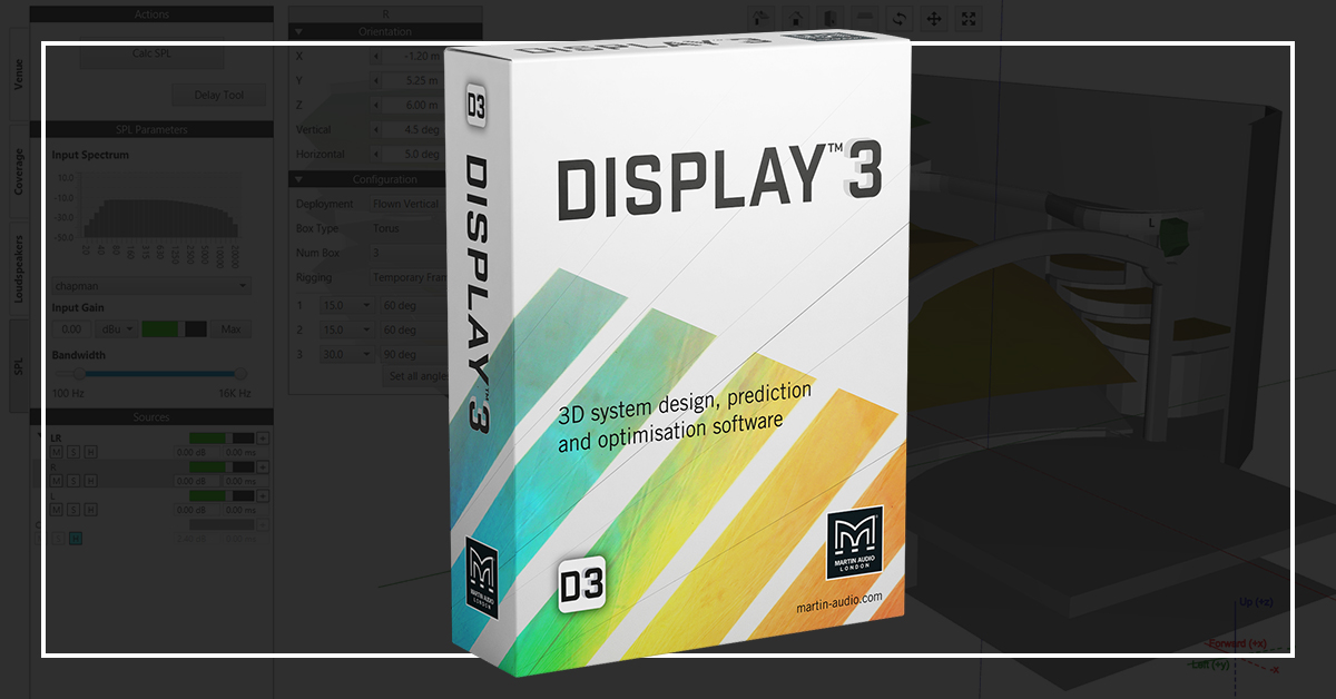 DISPLAY 3 All New 3D Prediction and Optimisation Software – Launching April