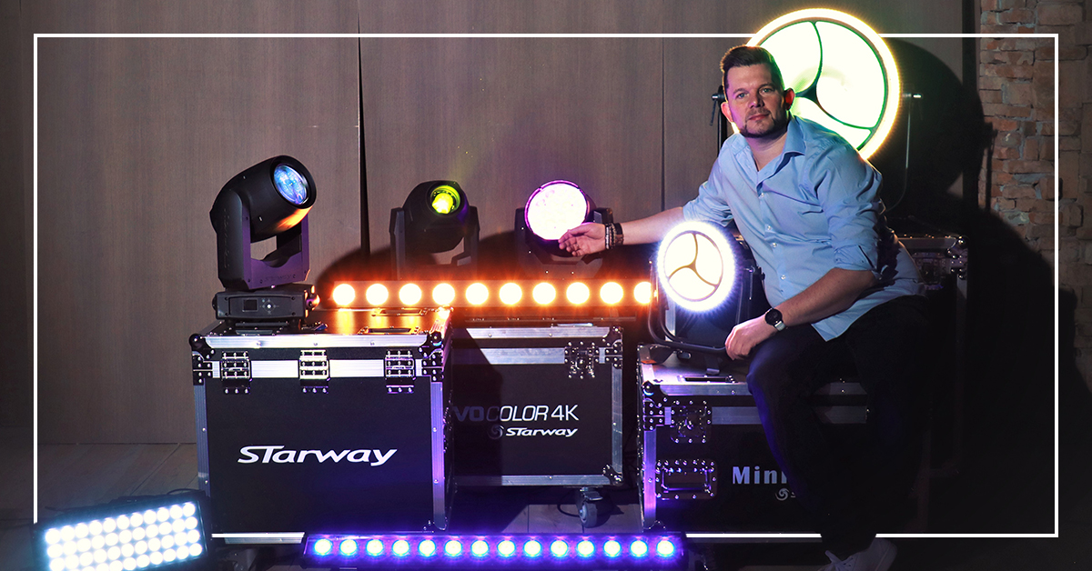 a huge range of Starway fixtures are now available for demo