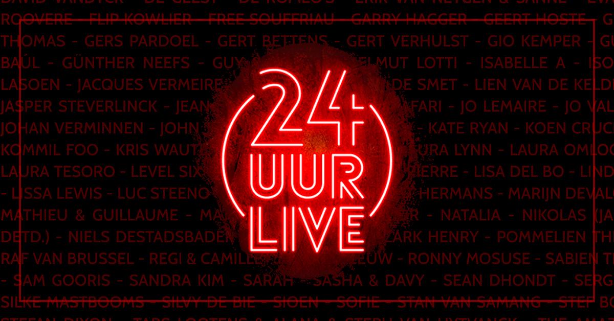 24 Uur live! De pauzeknop wordt gelost. It's showtime!