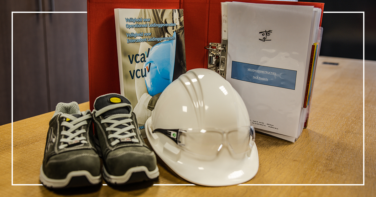 Safety is essential, our projects department is prepared