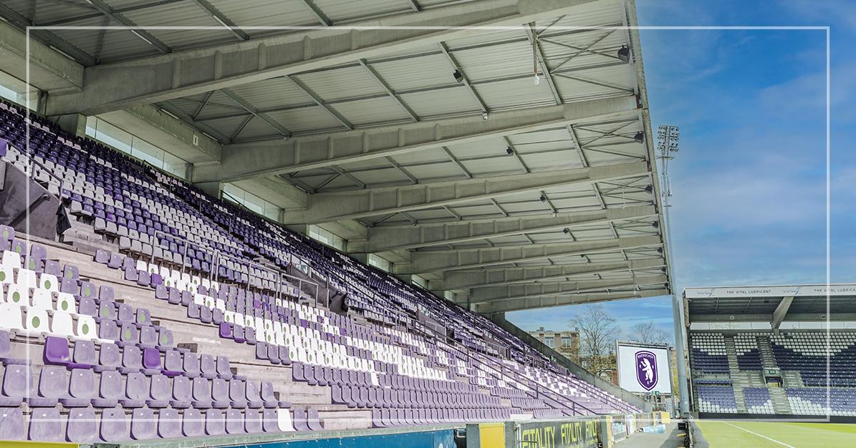 New audio system in K. Beerschot V.A. Stadium
