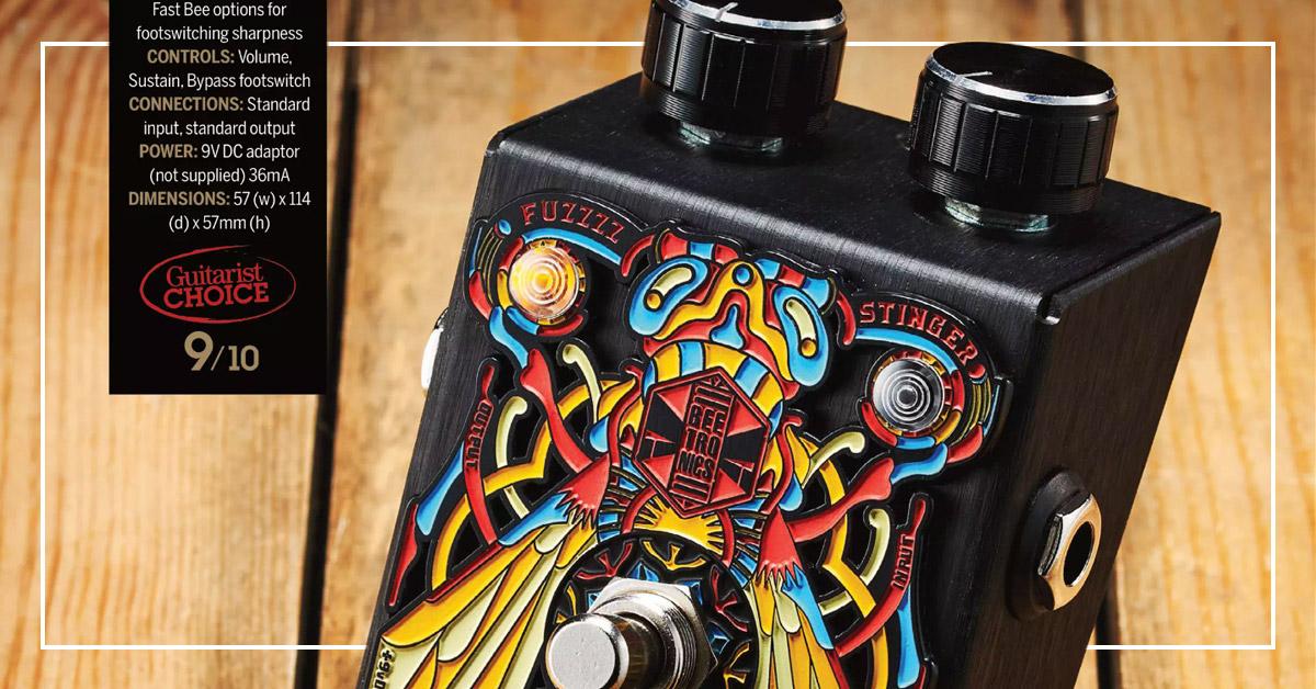 Beetronics Vezzpa receives prestigious Guitarist Choice Award