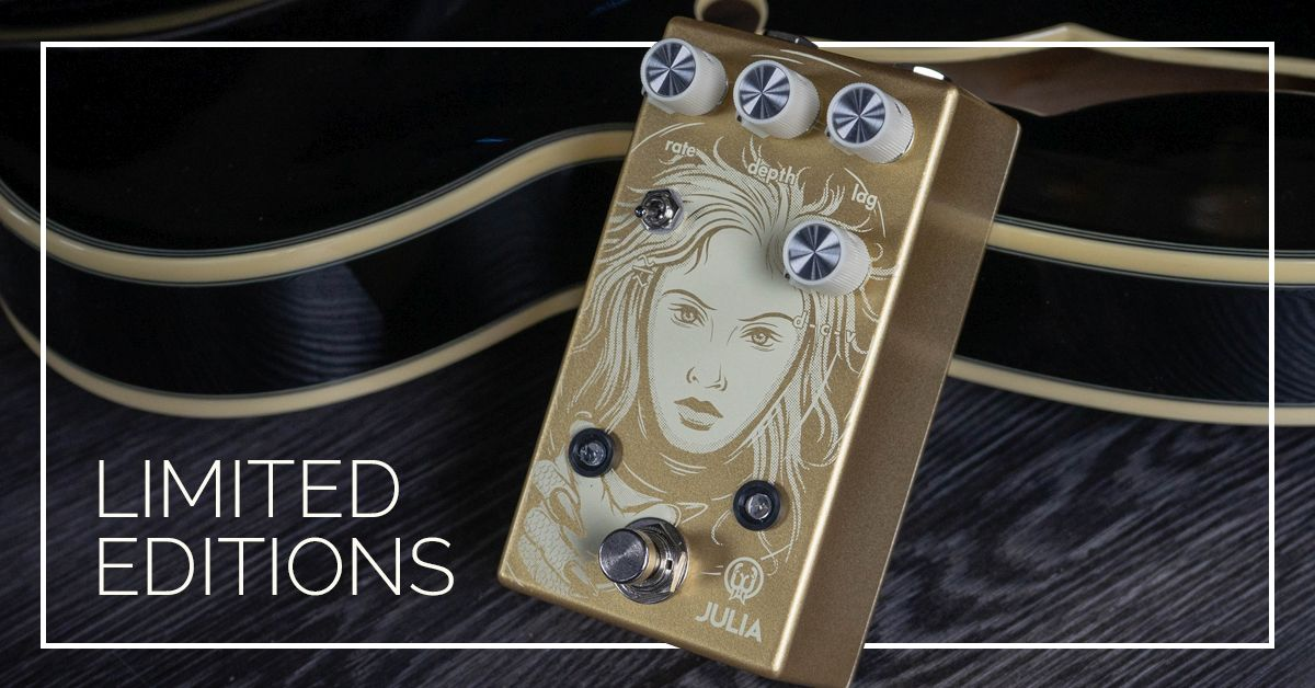 Walrus Audio Gold | Platinum Limited Editions are here