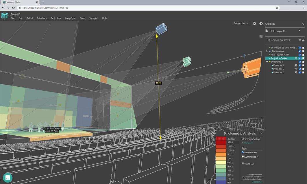 Mapping Matter interface