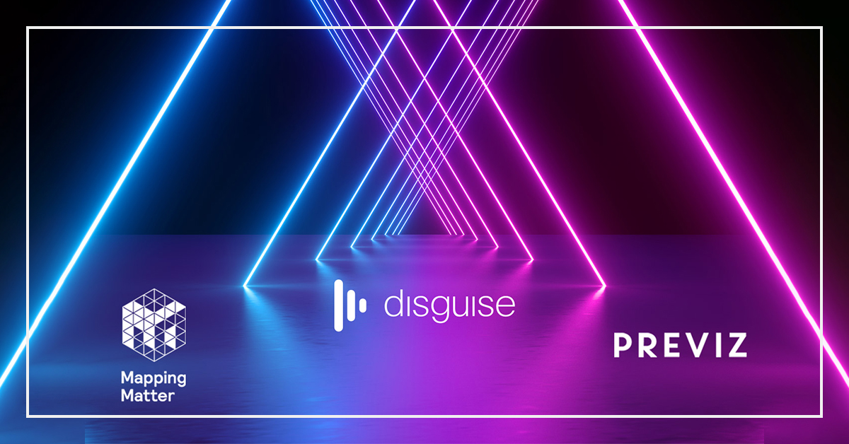 disguise acquires Mapping Matter and Previz