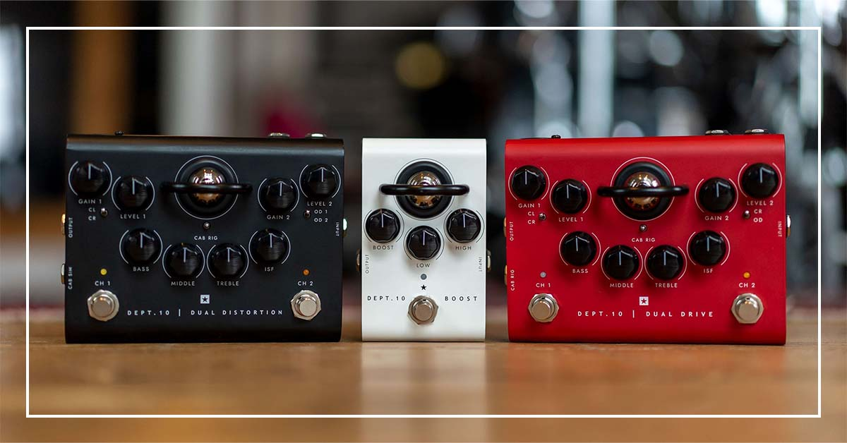 The World's Most Advanced Valve Pedals are Here