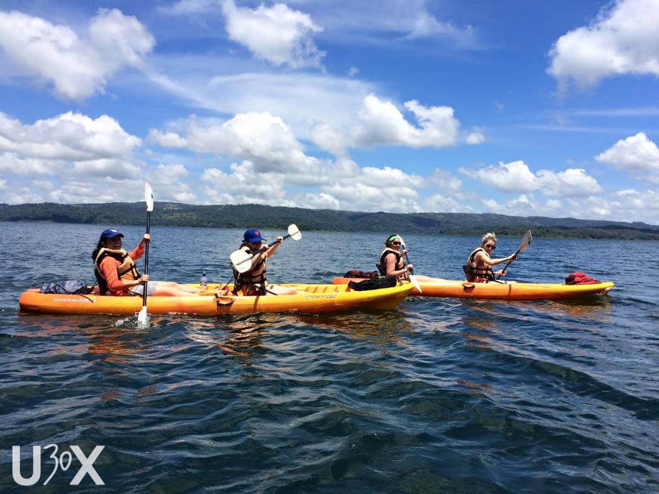 under30experiences kayak lake arenal