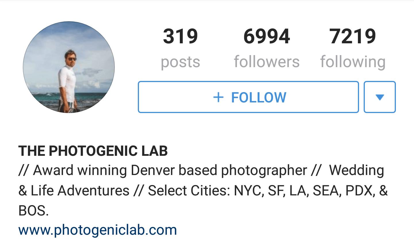 Top 10 Instagram Travel Photographers