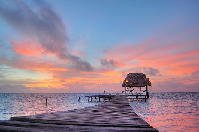 things-to-do-in-caye-caulker-sunset-belize