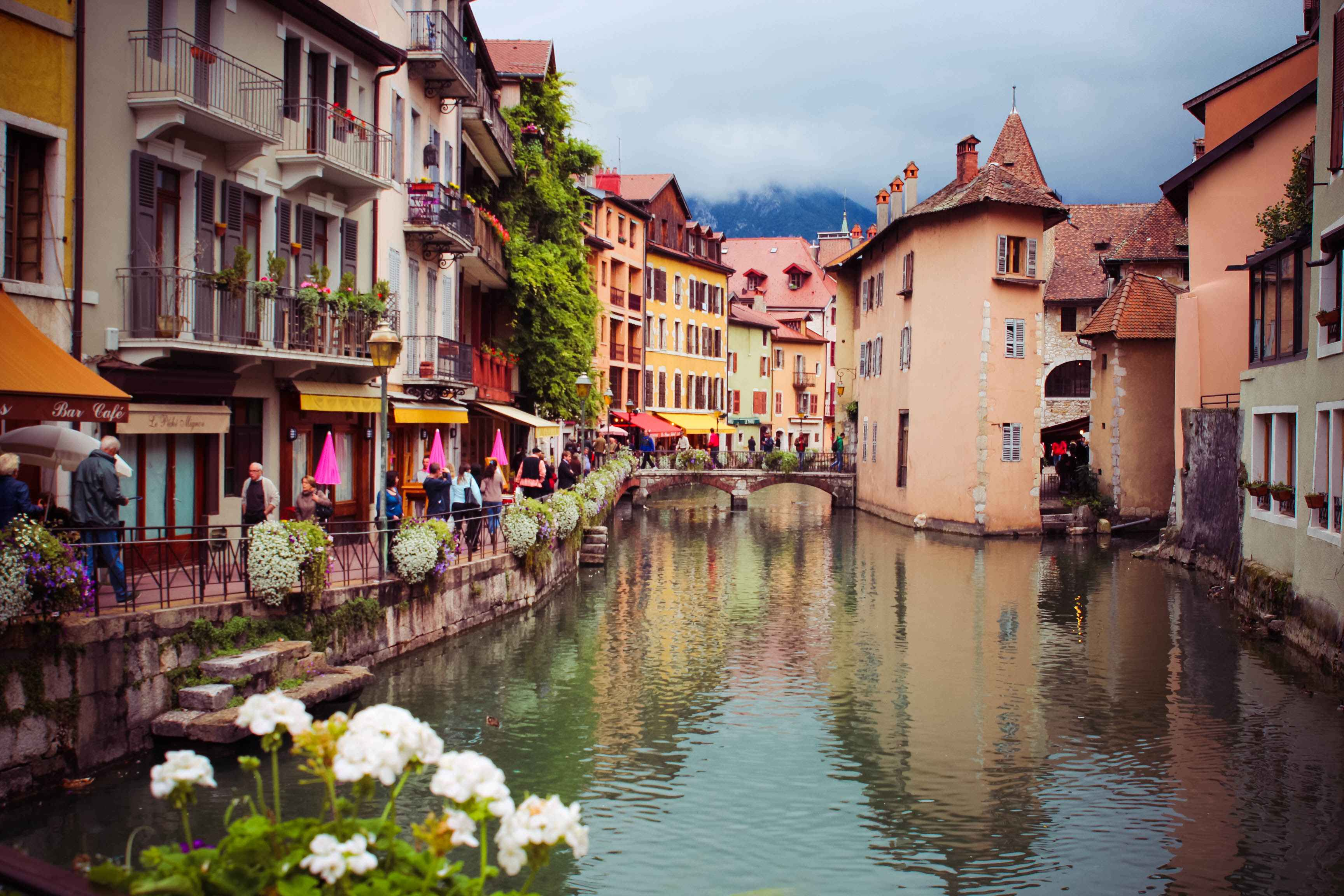 annecy-france-canal