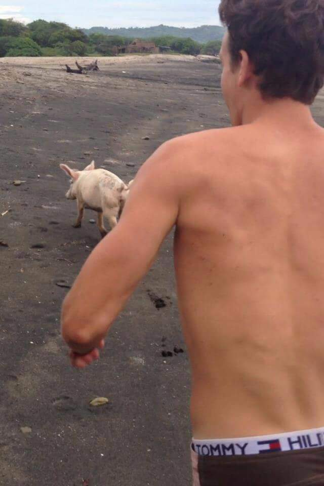 under30experiences-group-travel-blog-for-millennials-3-major-lessons-from-traveling-where-other-people-dont-Nicaragua-pig