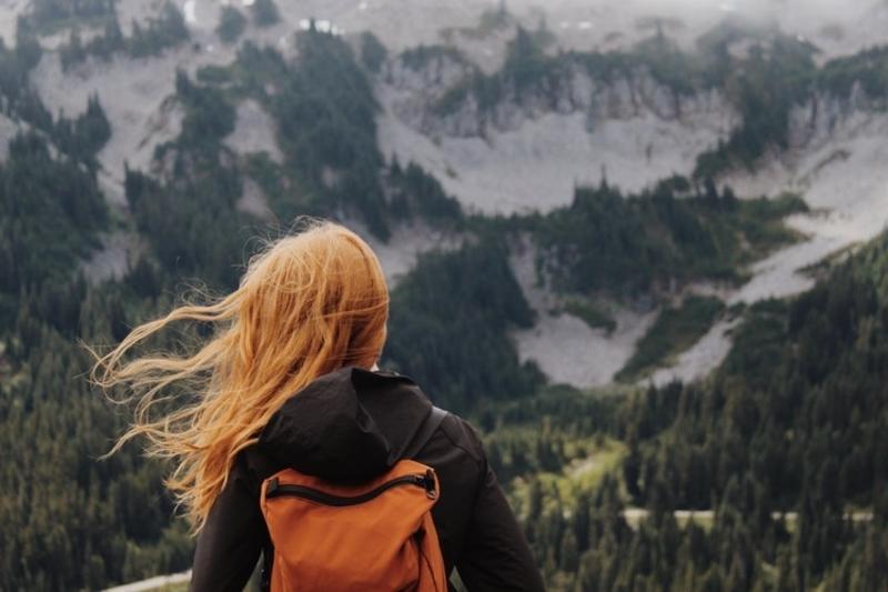 female-hiker