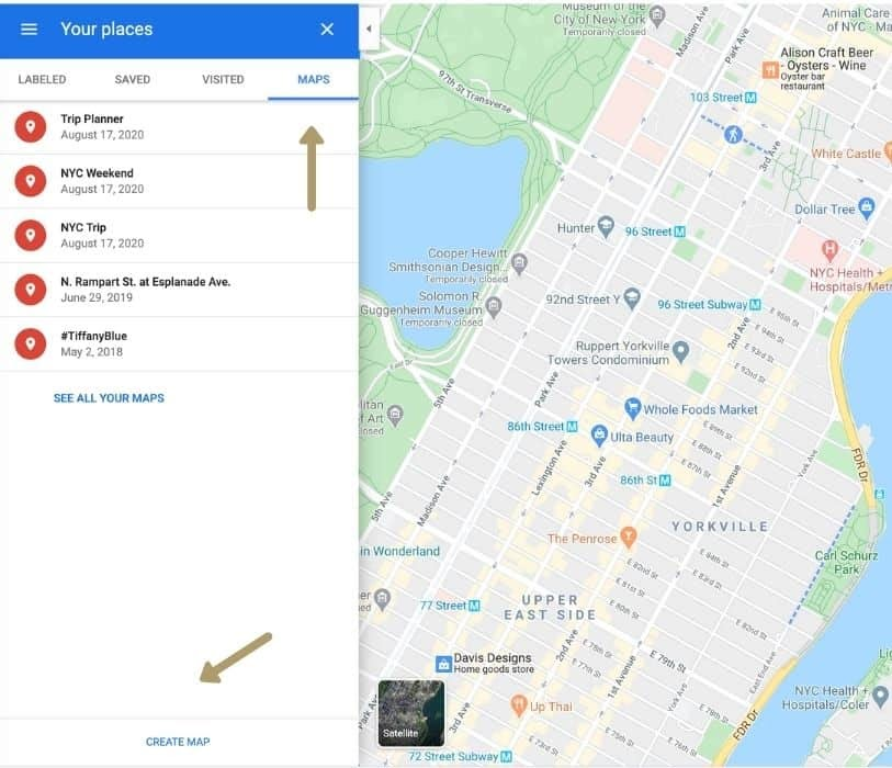 How To Plan A Stress-Free Trip With Google Maps Trip Planner