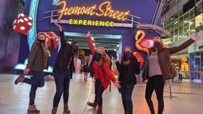 Fremont Street Las Vegas Nevada group tours Under30Experiences