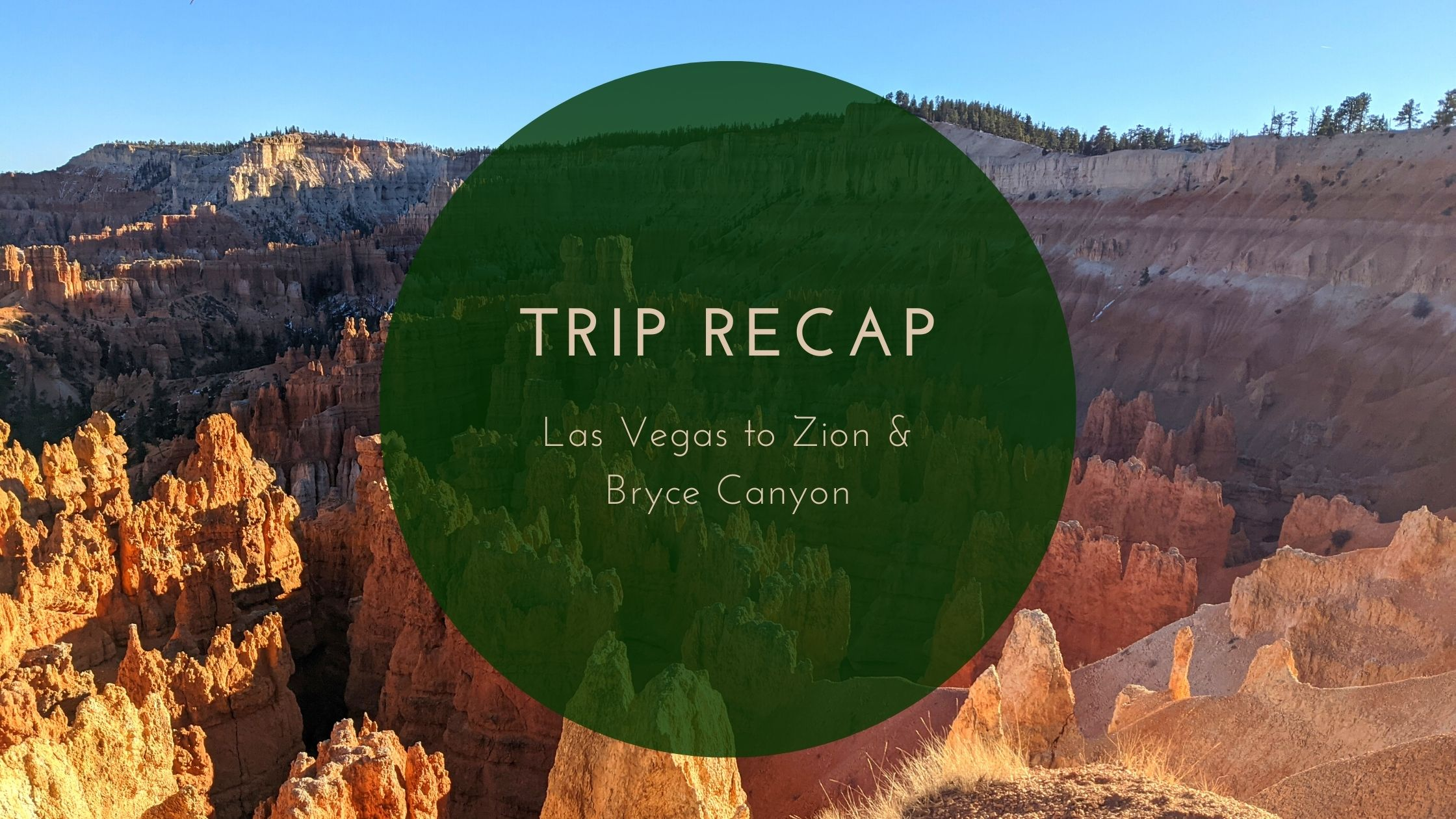 Trip Recap: Las Vegas to Zion & Bryce Canyon National Park with Under30Experiences