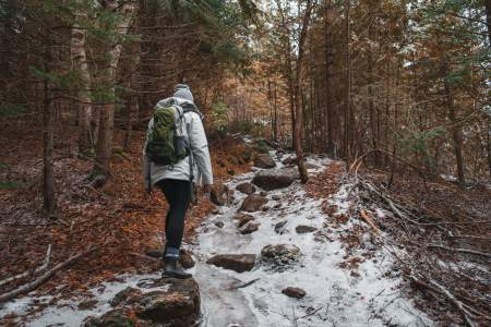 winter hiking tips, hiking in cold weather