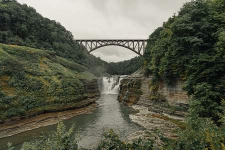 Letchworth State Park camping and hiking