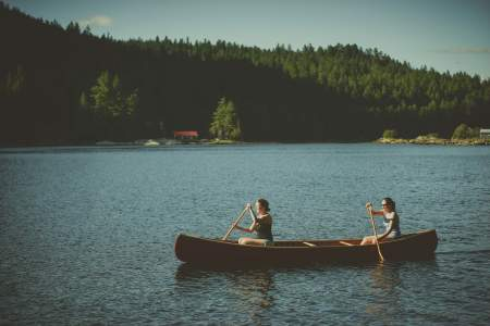 Best of midwestern United States parks, canoeing